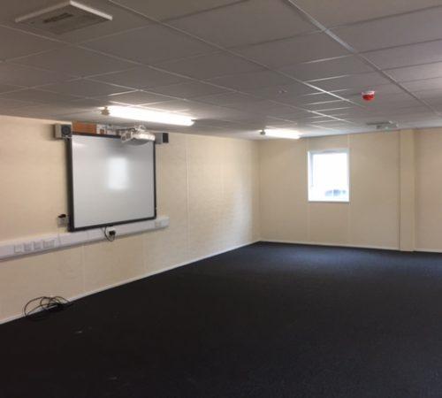 Temporary Classroom building