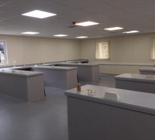Temporary Classroom - Lab