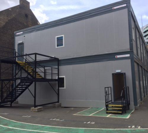 Temporary Classroom - Exterior